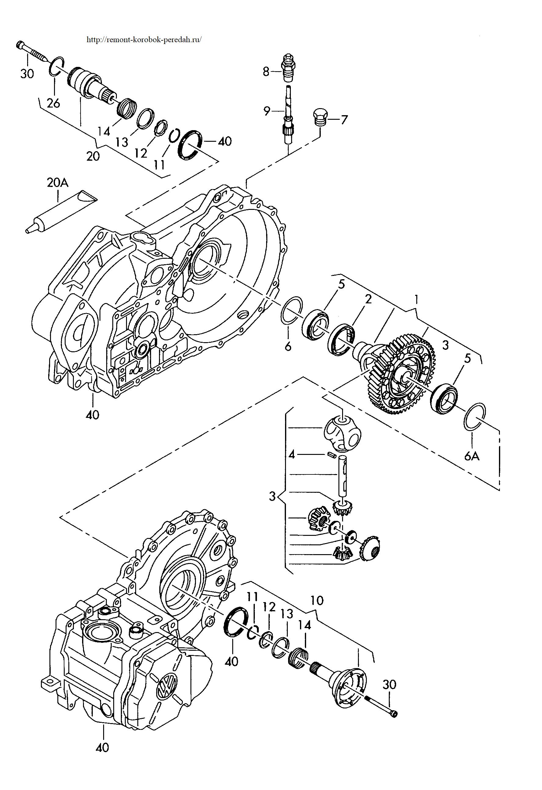Т5 транспортер коробка передач коммерческие авто фольксваген транспортер